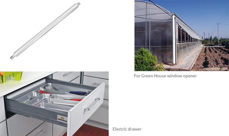 电动开启窗配件_开窗器电动推杆UG30结构图